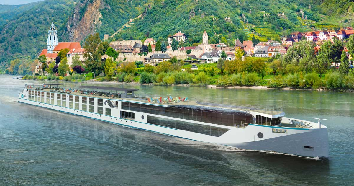 Crystal River Cruises Ship