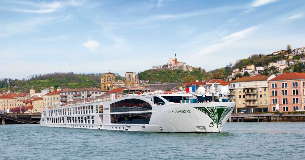 Uniworld River Cruise Ship
