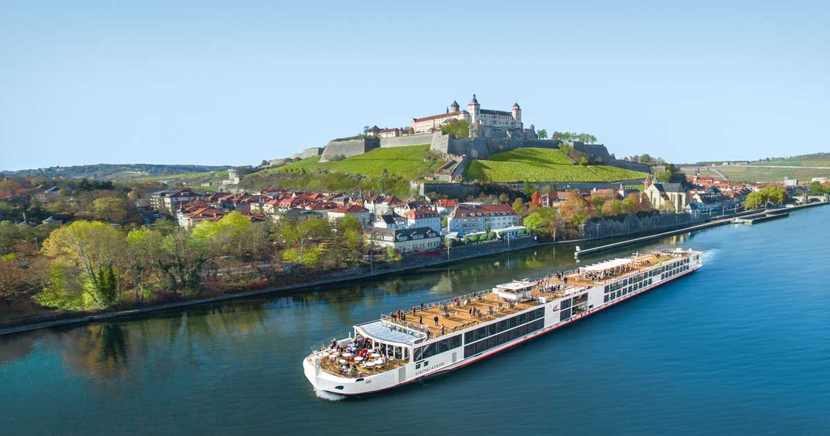 Viking River Cruises Long Ship