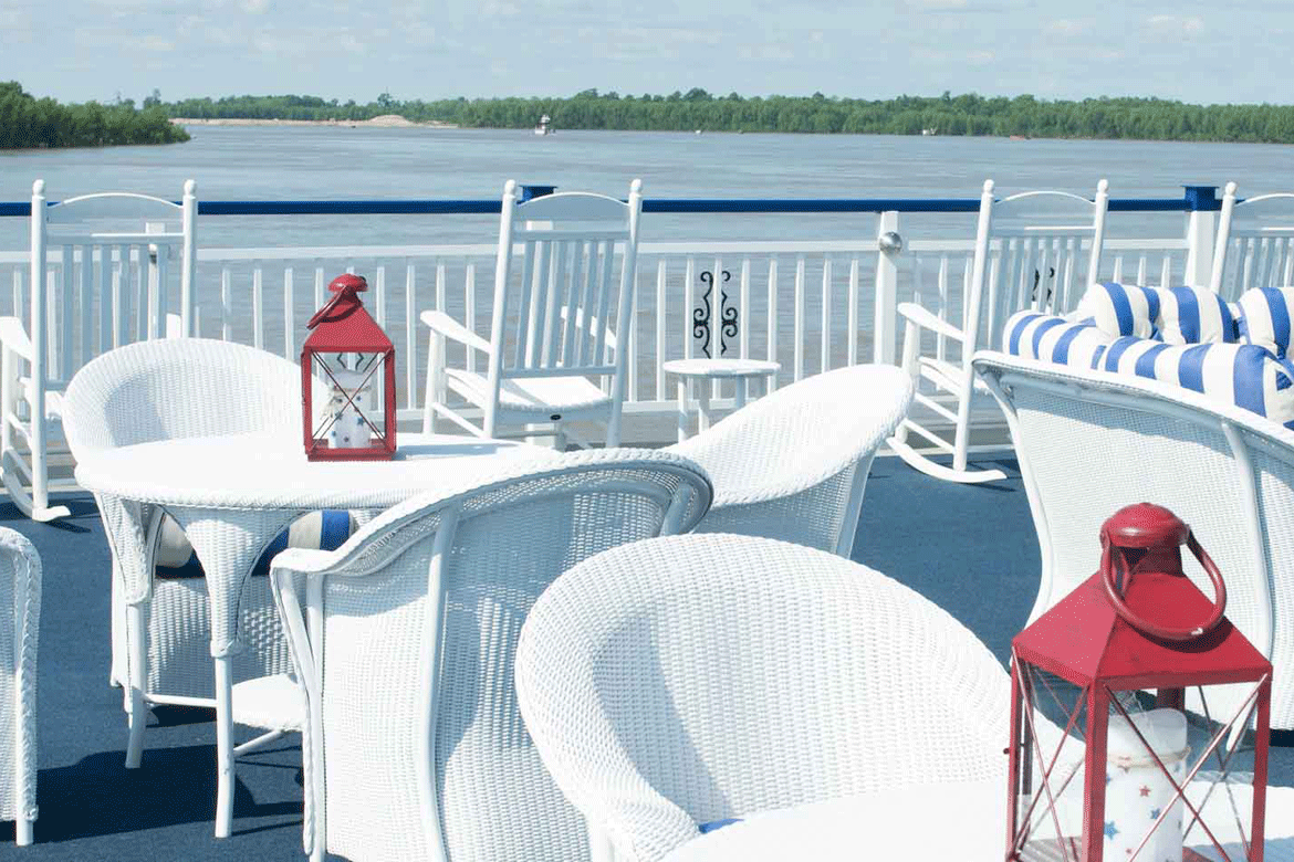 American Cruise Lines Deck